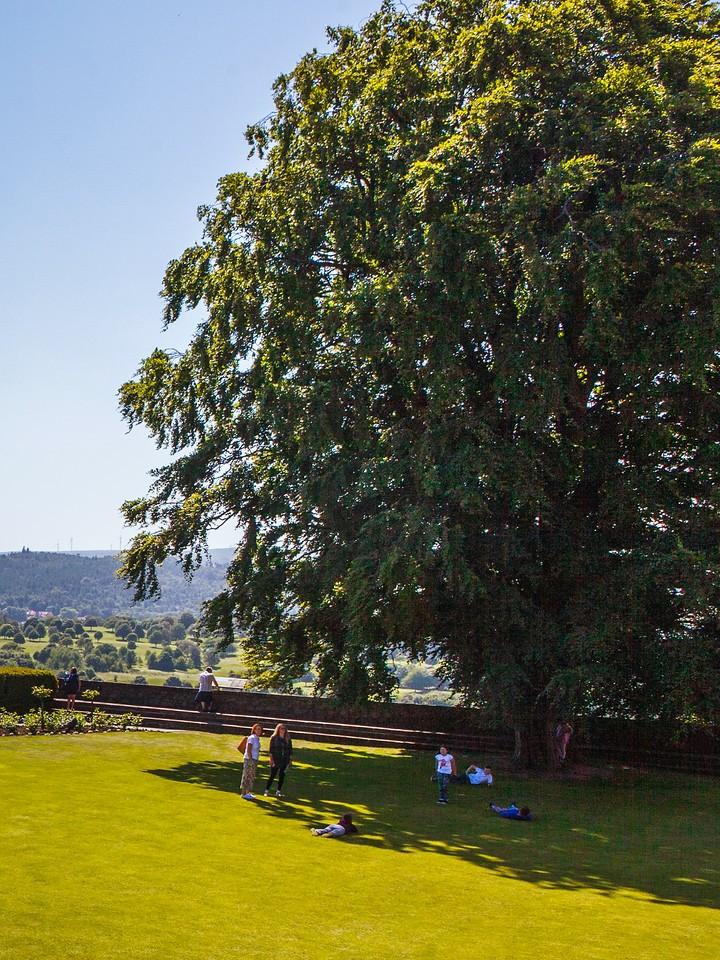 苏格兰斯特灵城堡,城外的世界_图1-2