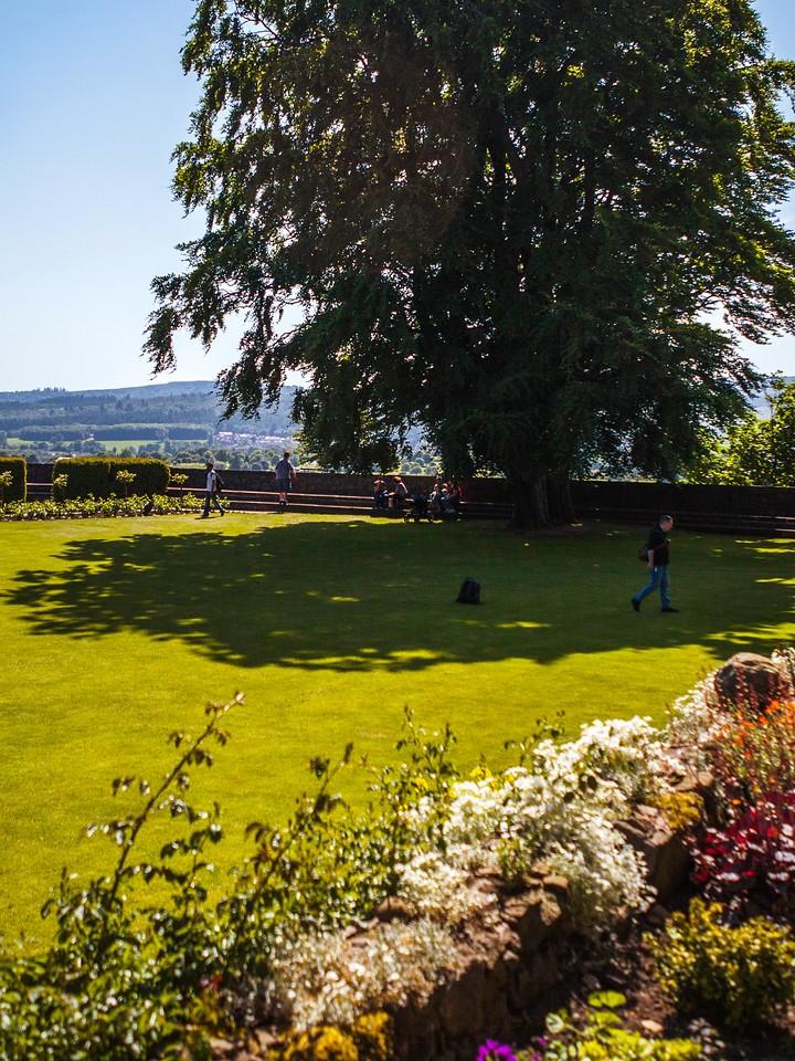 苏格兰斯特灵城堡,城外的世界_图1-7