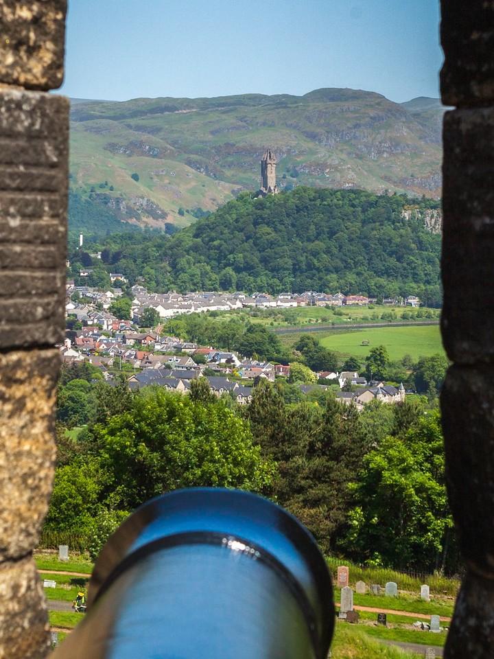 苏格兰斯特灵城堡,城外的世界_图1-6