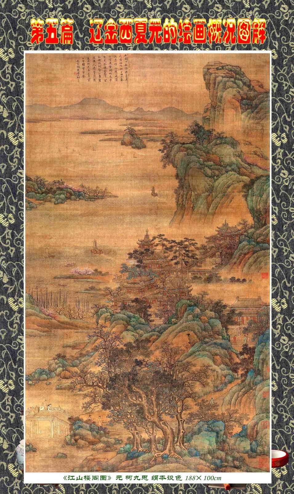 顾绍骅编辑 中国画知识普及版 第五篇 辽金西夏元的绘画概况 下 ... ..._图1-2