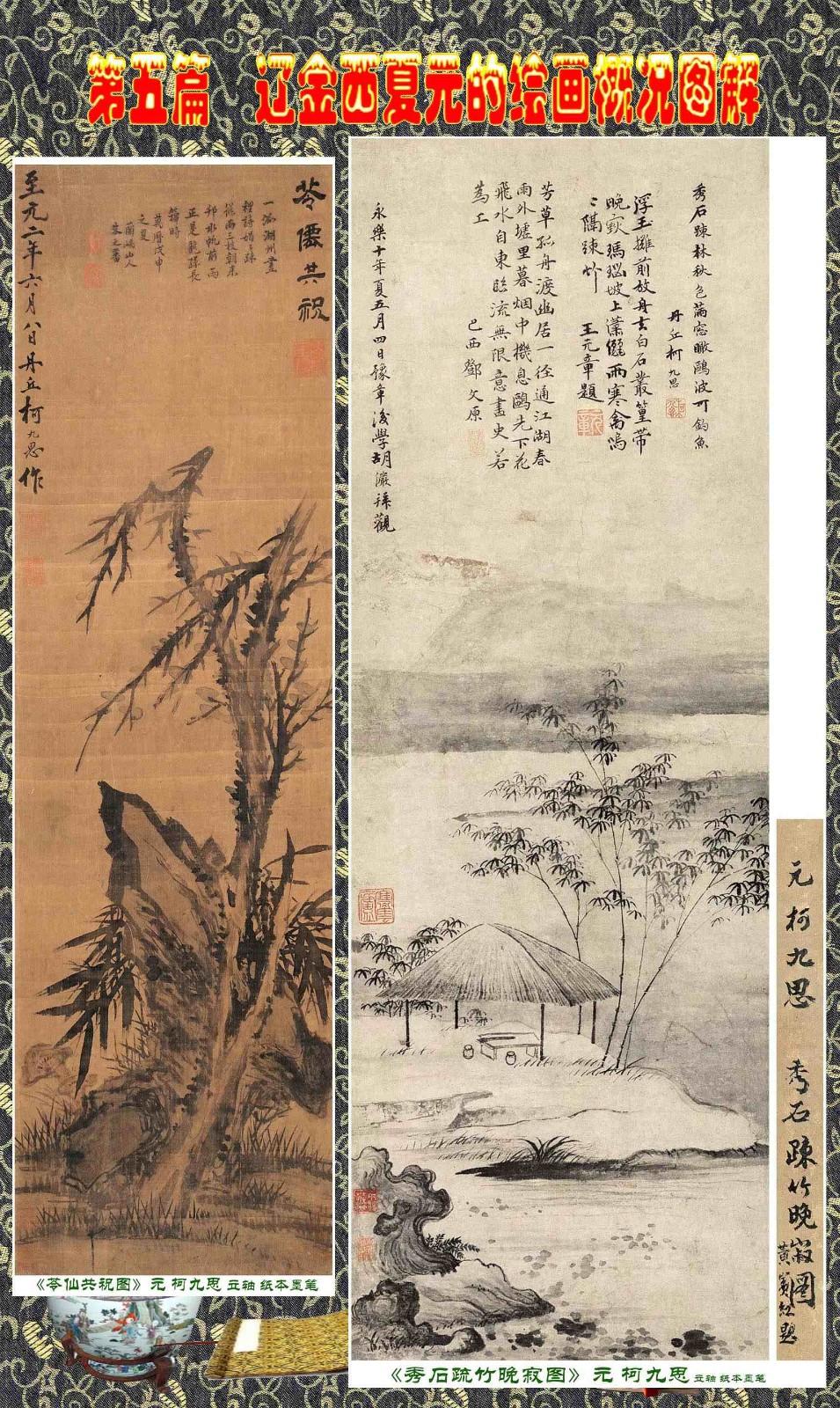 顾绍骅编辑 中国画知识普及版 第五篇 辽金西夏元的绘画概况 下 ... ..._图1-4