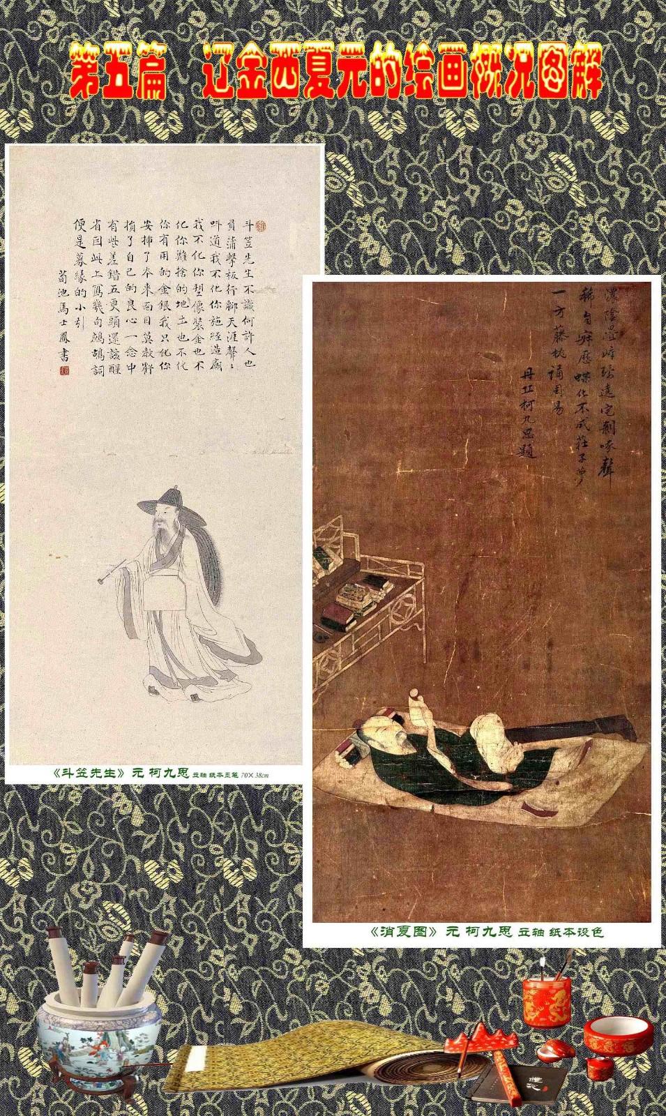 顾绍骅编辑 中国画知识普及版 第五篇 辽金西夏元的绘画概况 下 ... ..._图1-5