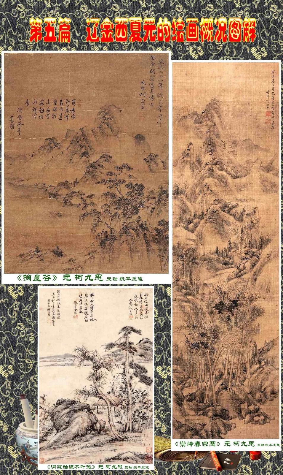 顾绍骅编辑 中国画知识普及版 第五篇 辽金西夏元的绘画概况 下 ... ..._图1-7