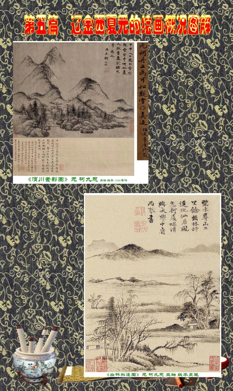 顾绍骅编辑 中国画知识普及版 第五篇 辽金西夏元的绘画概况 下 ... ..._图1-8