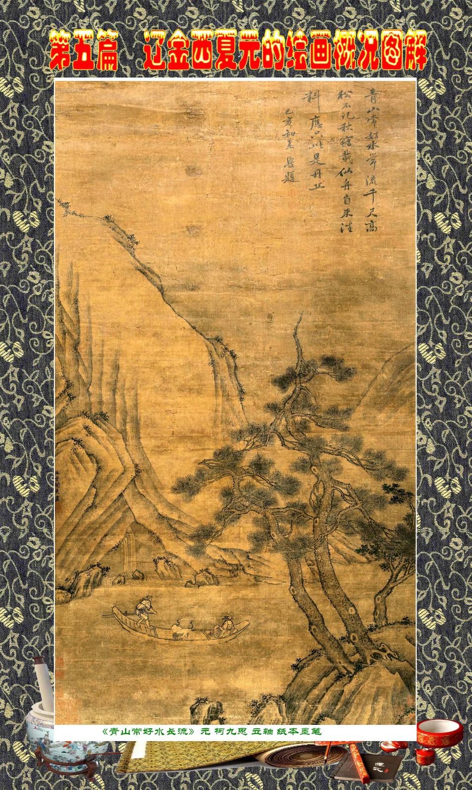 顾绍骅编辑 中国画知识普及版 第五篇 辽金西夏元的绘画概况 下 ... ..._图1-9