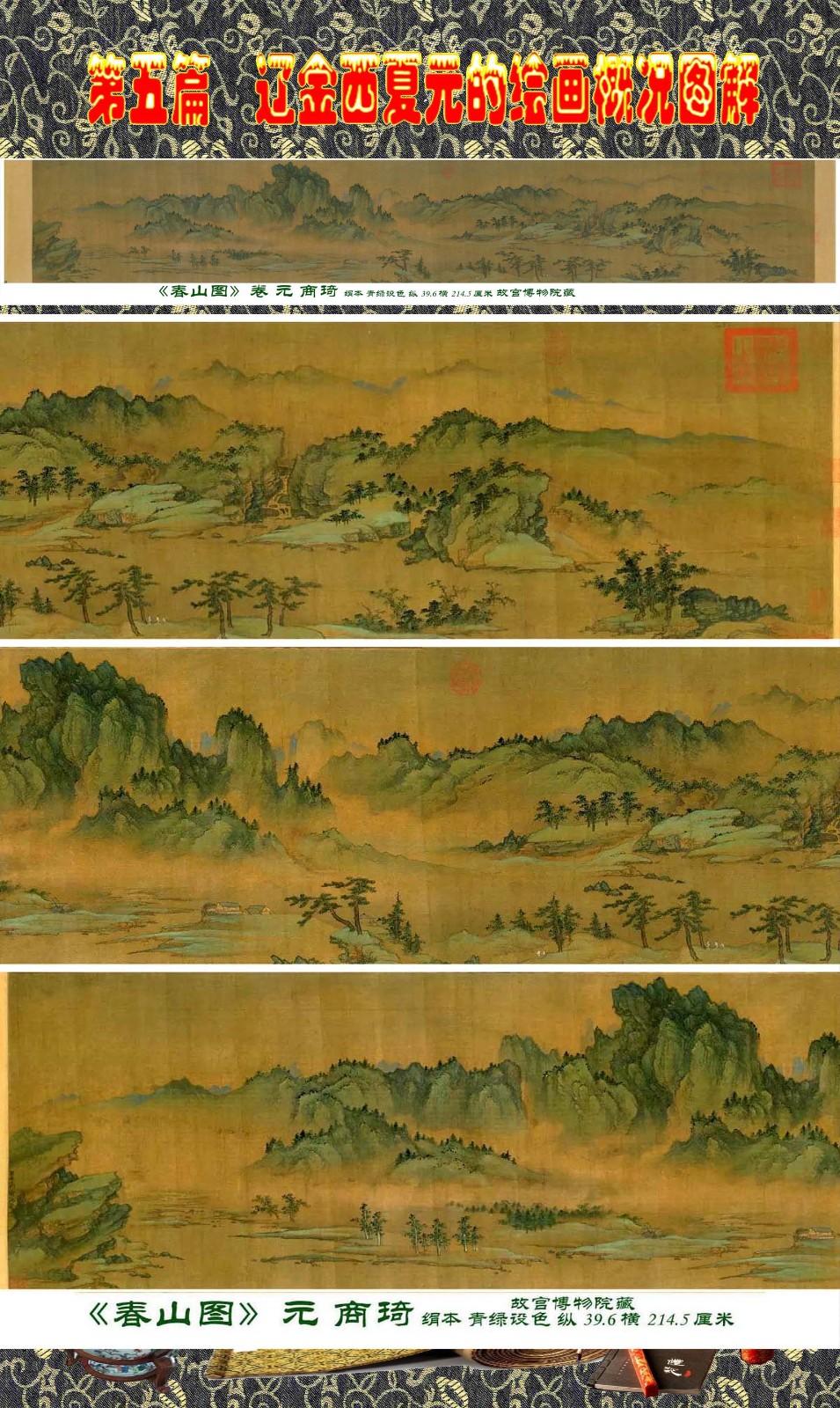 顾绍骅编辑 中国画知识普及版 第五篇 辽金西夏元的绘画概况 下 ... ..._图1-10