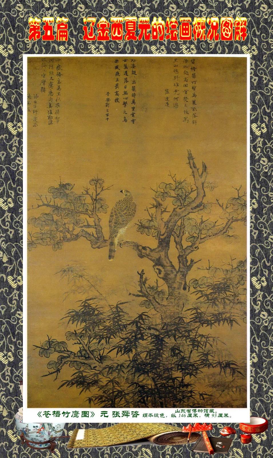 顾绍骅编辑 中国画知识普及版 第五篇 辽金西夏元的绘画概况 下 ... ..._图1-12