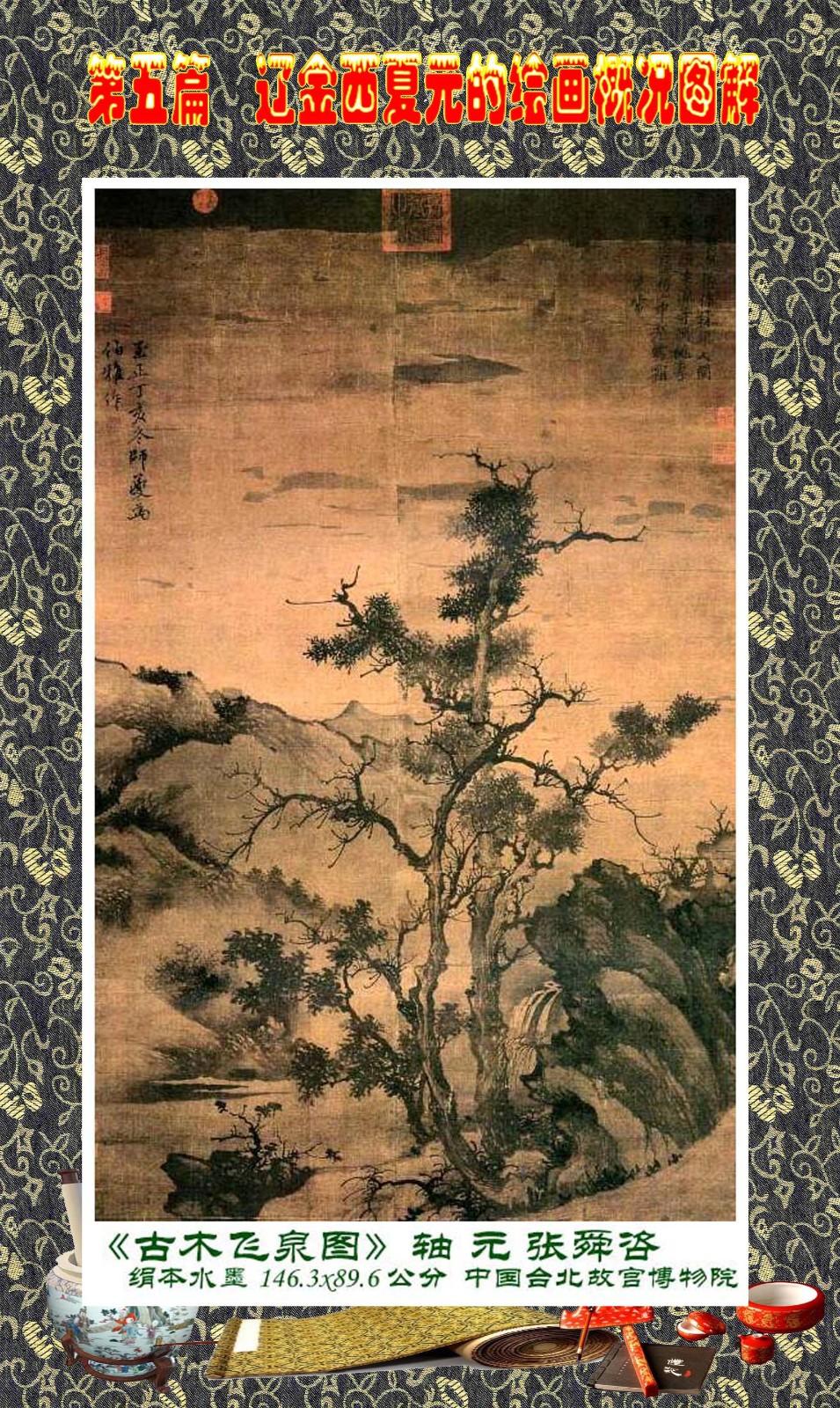 顾绍骅编辑 中国画知识普及版 第五篇 辽金西夏元的绘画概况 下 ... ..._图1-13