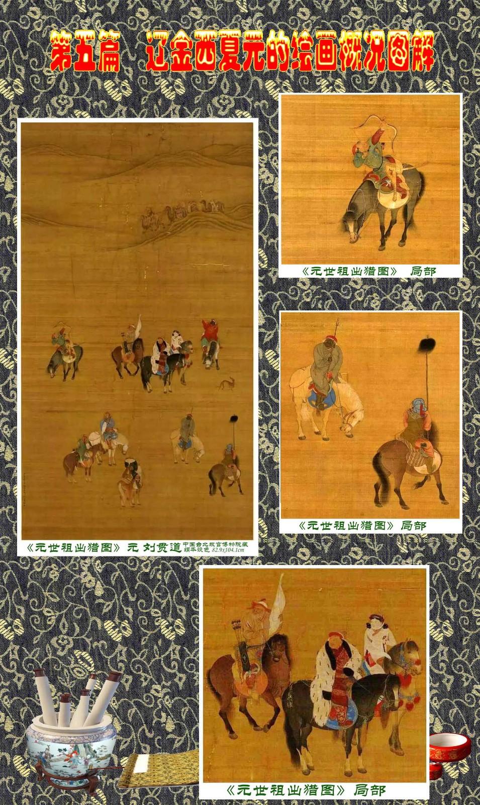 顾绍骅编辑 中国画知识普及版 第五篇 辽金西夏元的绘画概况 下 ... ..._图1-15