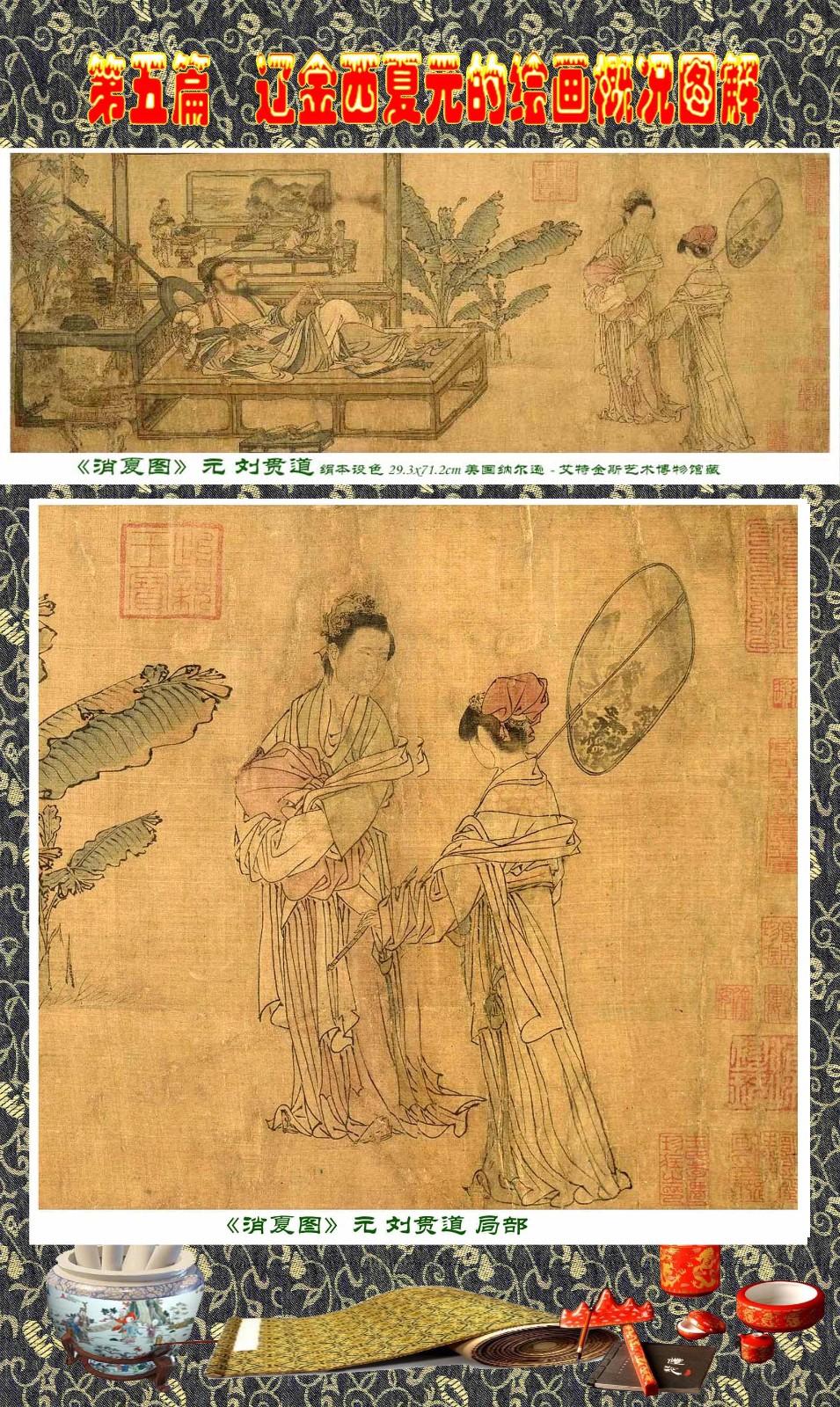 顾绍骅编辑 中国画知识普及版 第五篇 辽金西夏元的绘画概况 下 ... ..._图1-16