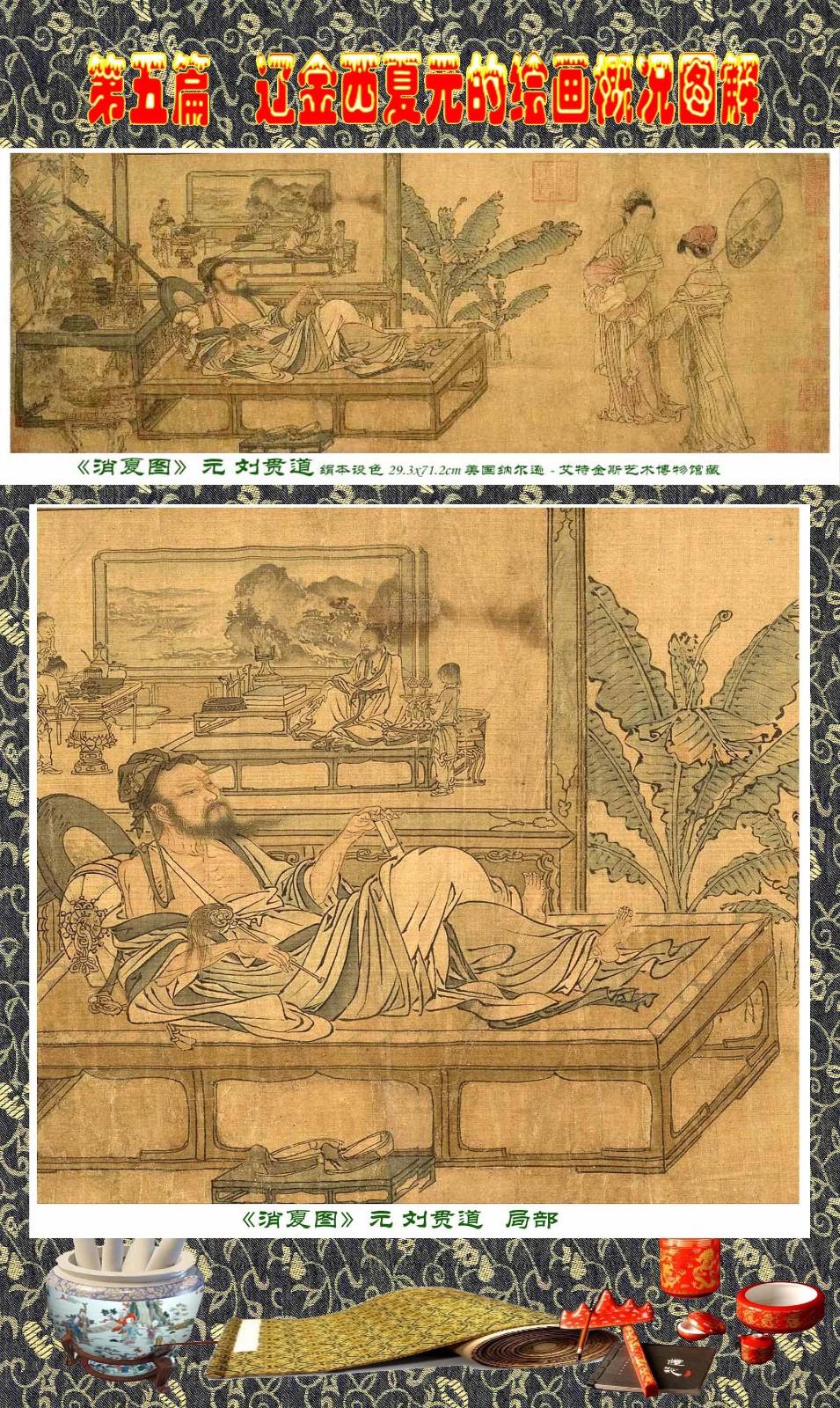 顾绍骅编辑 中国画知识普及版 第五篇 辽金西夏元的绘画概况 下 ... ..._图1-17