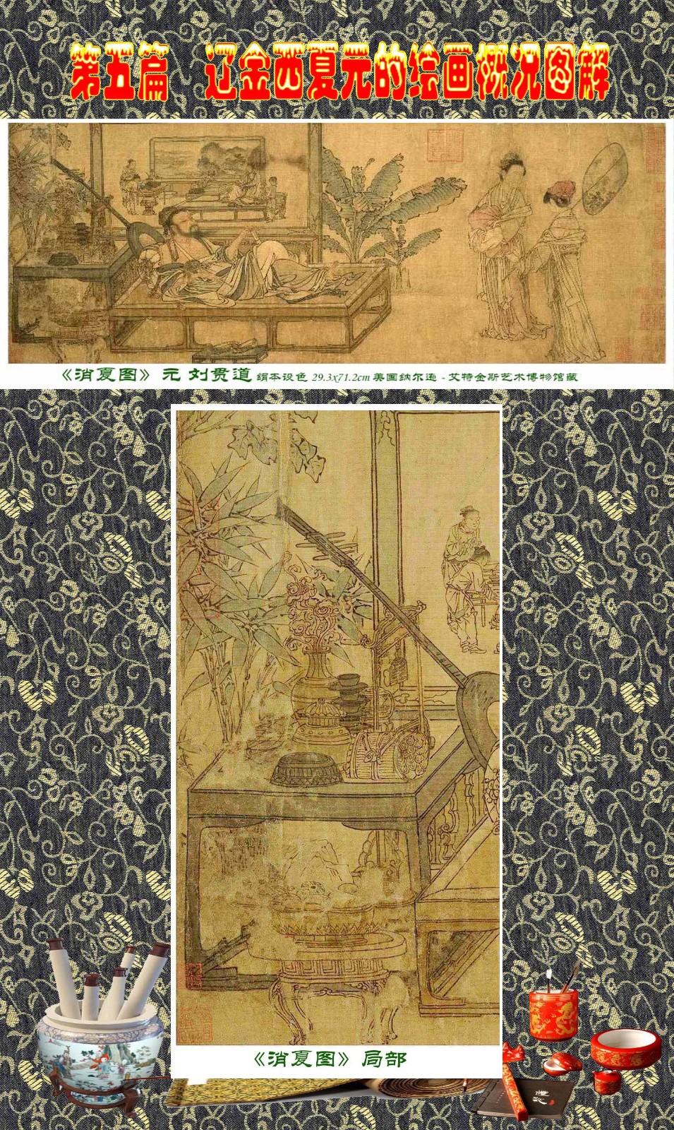 顾绍骅编辑 中国画知识普及版 第五篇 辽金西夏元的绘画概况 下 ... ..._图1-18