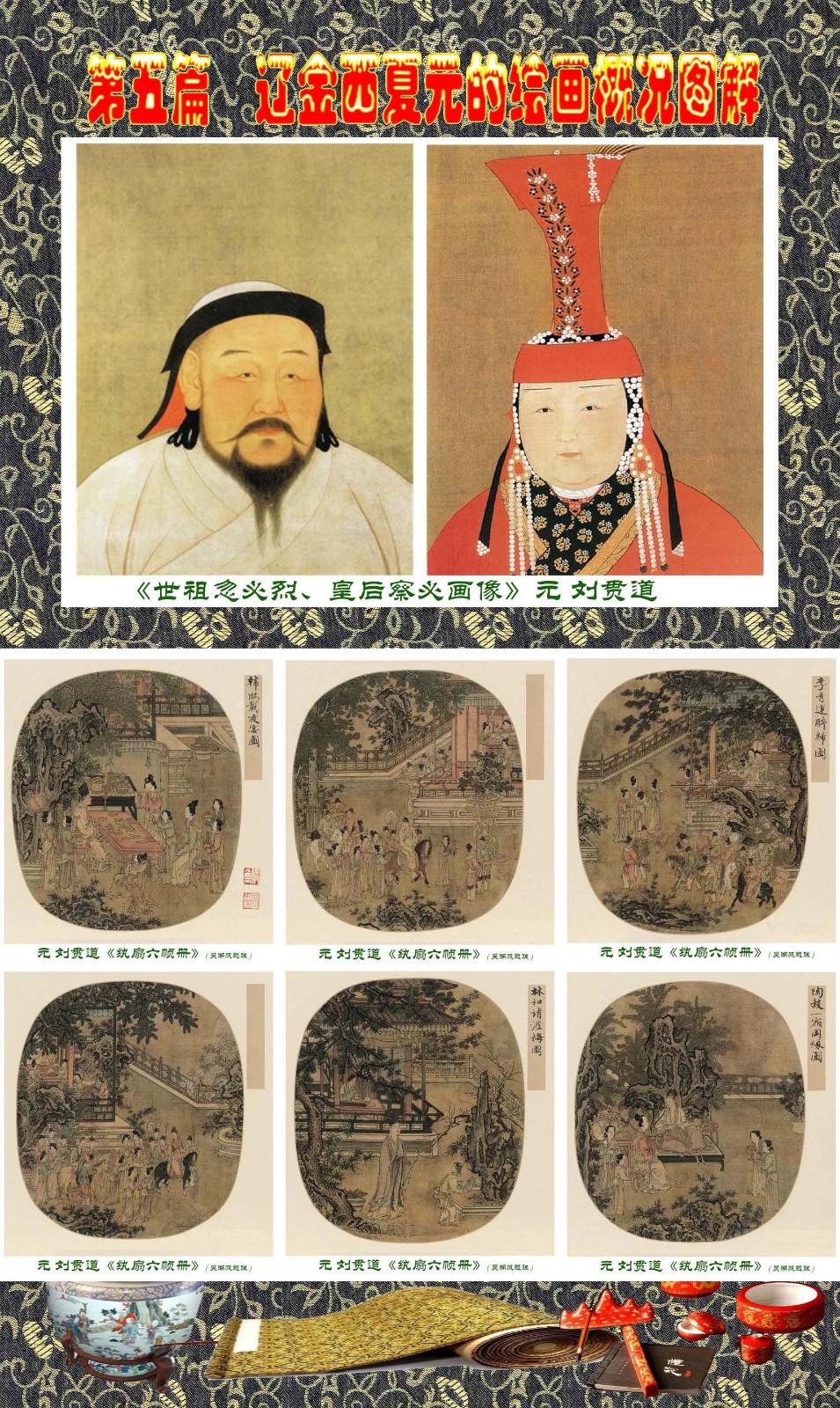 顾绍骅编辑 中国画知识普及版 第五篇 辽金西夏元的绘画概况 下 ... ..._图1-20