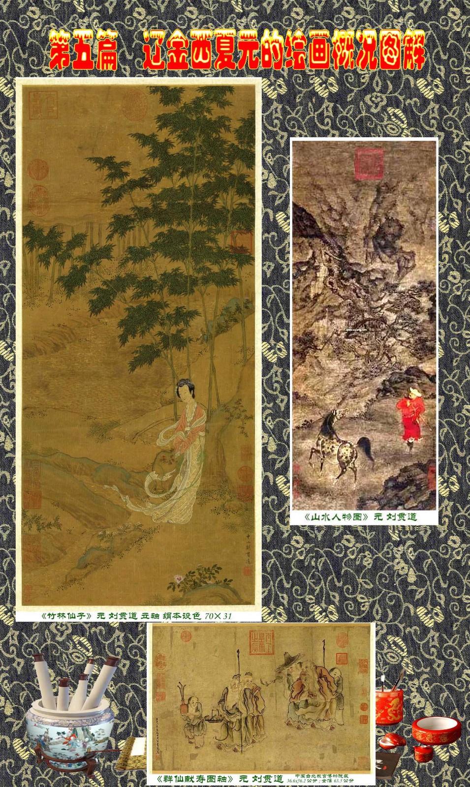 顾绍骅编辑 中国画知识普及版 第五篇 辽金西夏元的绘画概况 下 ... ..._图1-22