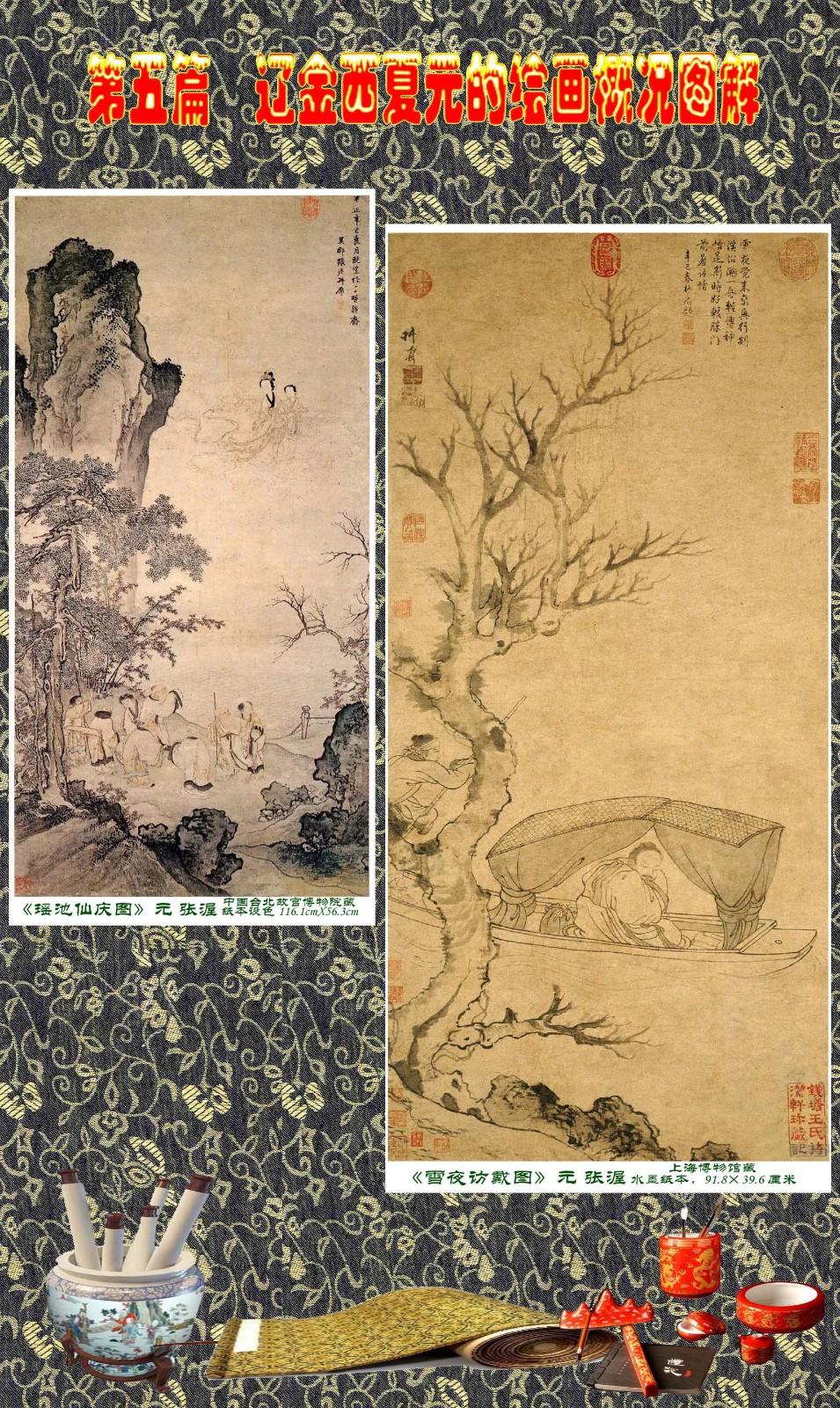 顾绍骅编辑 中国画知识普及版 第五篇 辽金西夏元的绘画概况 下 ... ..._图1-23
