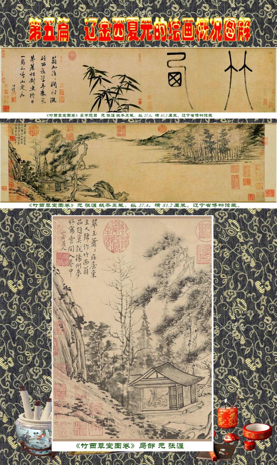 顾绍骅编辑 中国画知识普及版 第五篇 辽金西夏元的绘画概况 下 ... ..._图1-25