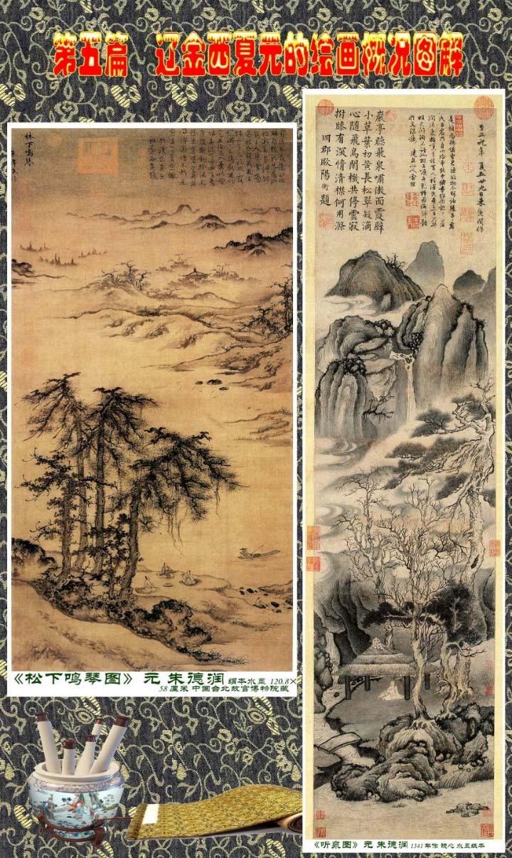 顾绍骅编辑 中国画知识普及版 第五篇 辽金西夏元的绘画概况 下 ... ..._图1-118