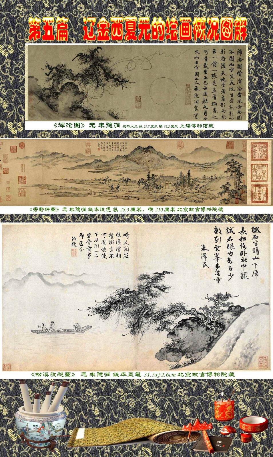 顾绍骅编辑 中国画知识普及版 第五篇 辽金西夏元的绘画概况 下 ... ..._图1-27