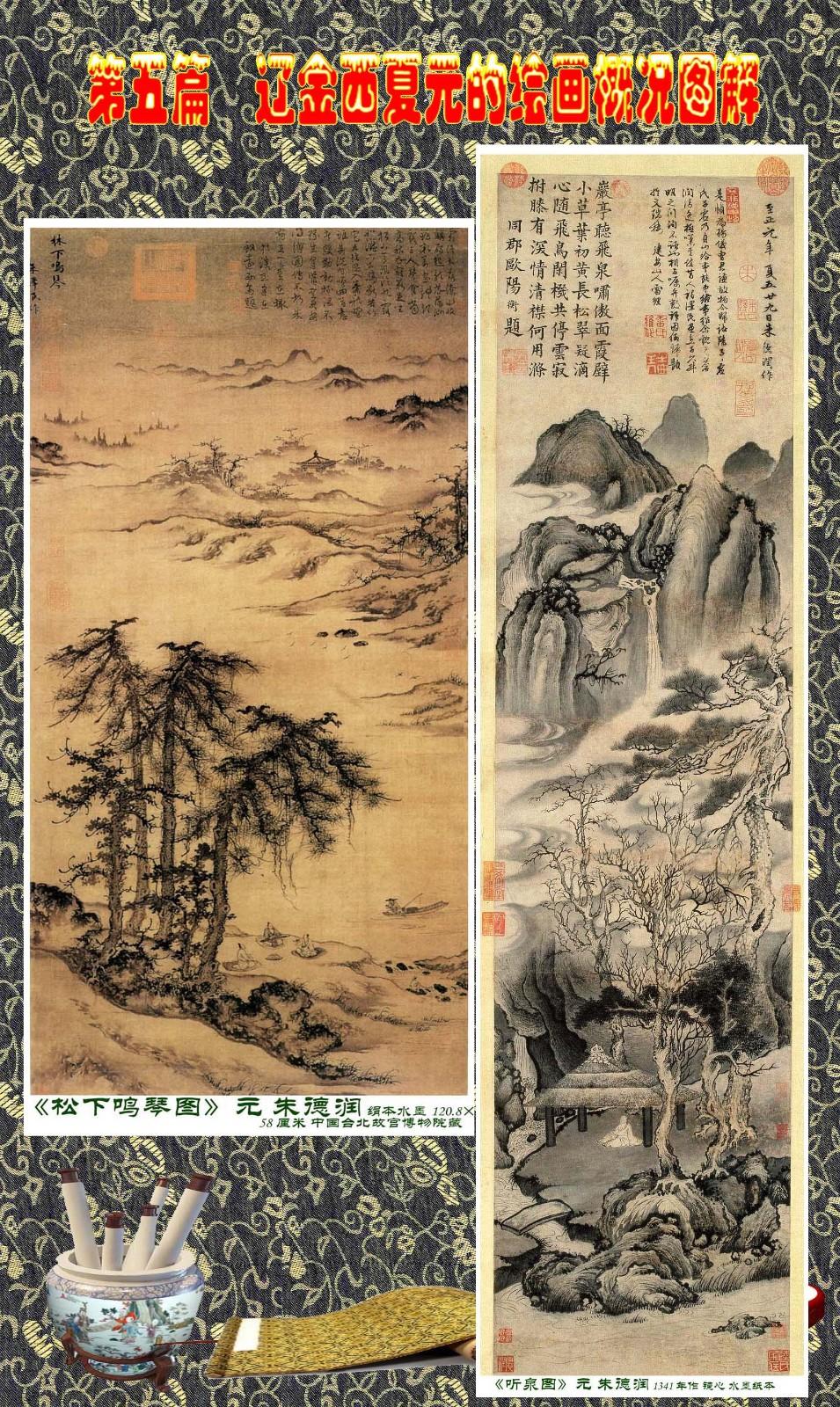 顾绍骅编辑 中国画知识普及版 第五篇 辽金西夏元的绘画概况 下 ... ..._图1-26