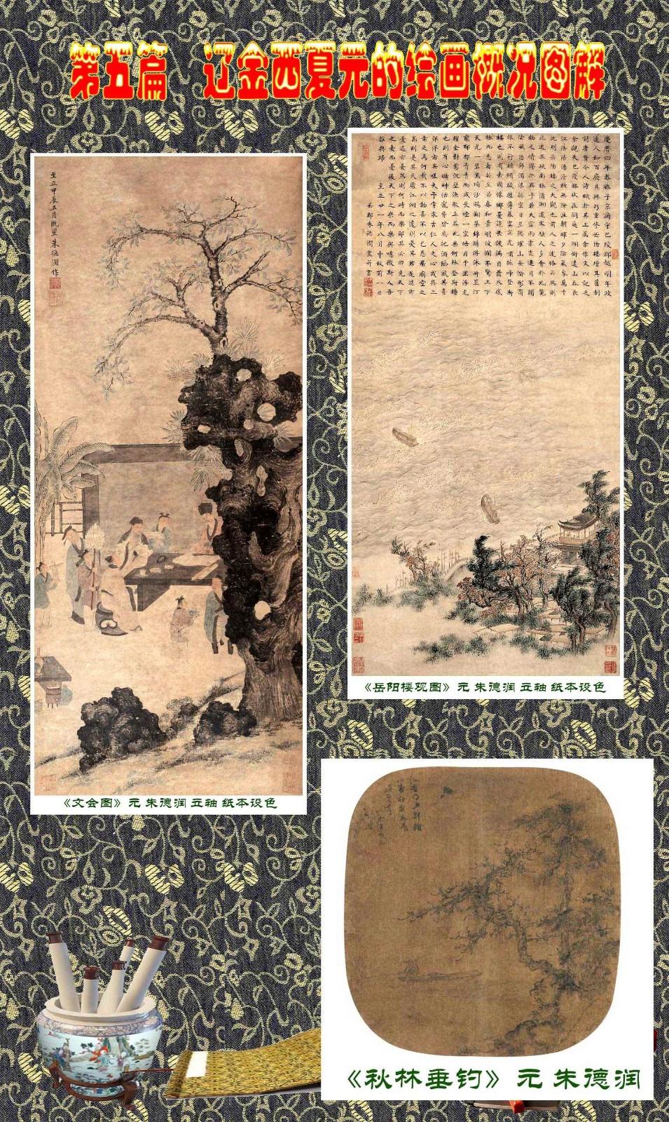 顾绍骅编辑 中国画知识普及版 第五篇 辽金西夏元的绘画概况 下 ... ..._图1-30