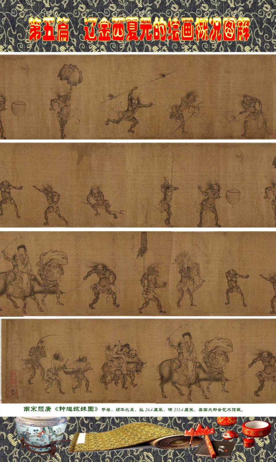 顾绍骅编辑 中国画知识普及版 第五篇 辽金西夏元的绘画概况 下 ... ..._图1-32