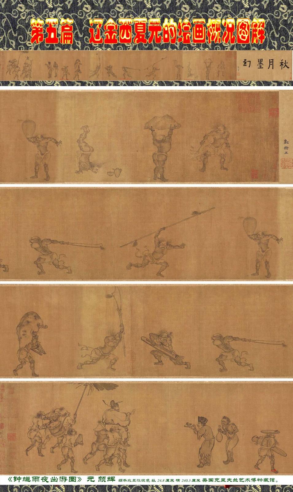 顾绍骅编辑 中国画知识普及版 第五篇 辽金西夏元的绘画概况 下 ... ..._图1-33
