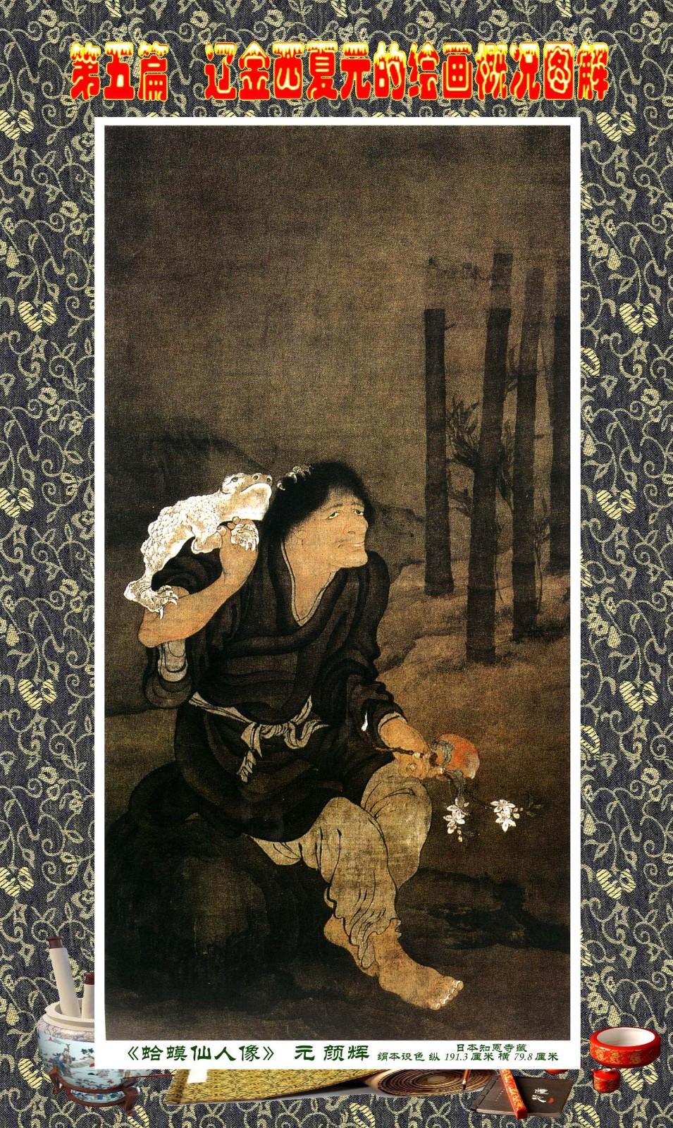 顾绍骅编辑 中国画知识普及版 第五篇 辽金西夏元的绘画概况 下 ... ..._图1-34