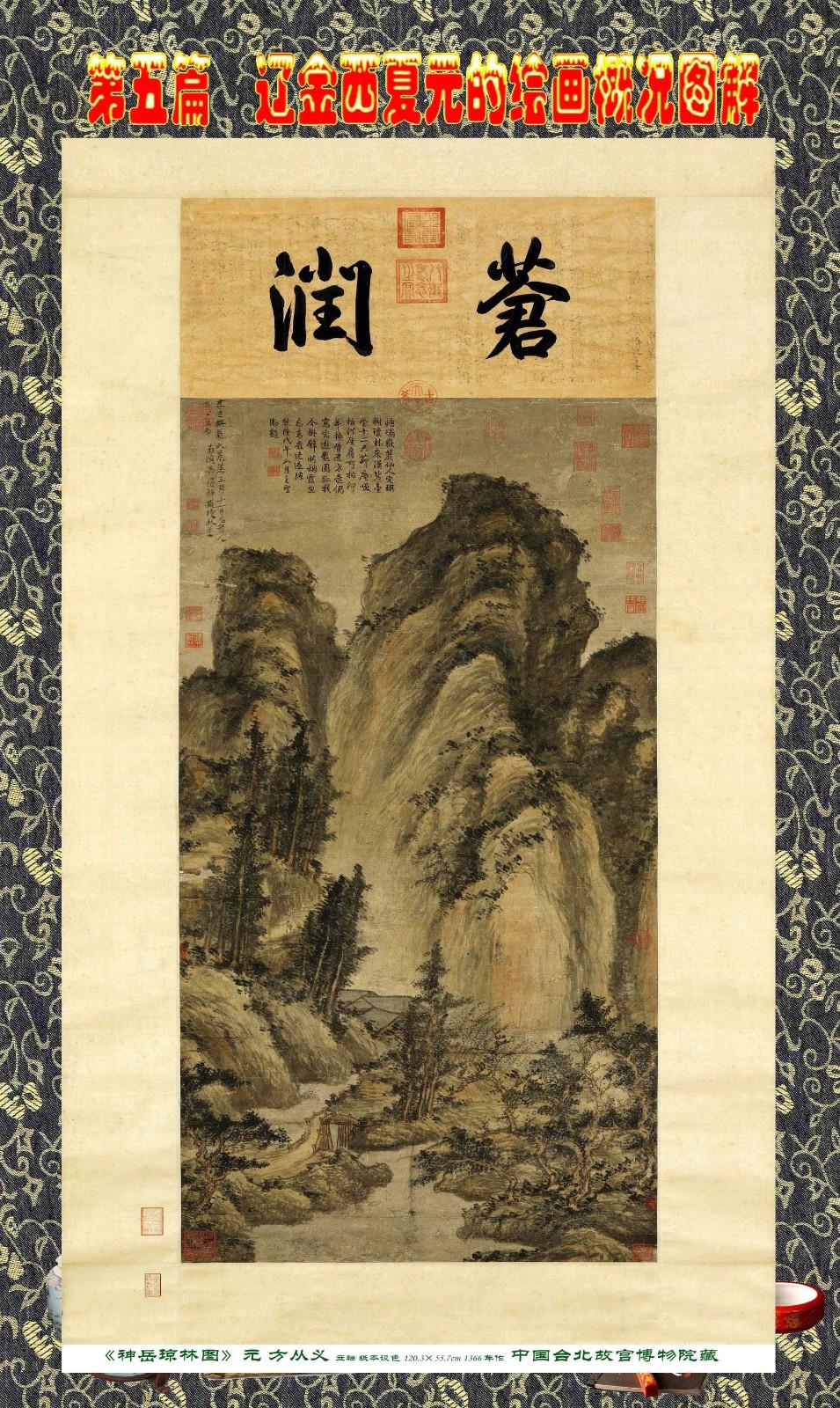 顾绍骅编辑 中国画知识普及版 第五篇 辽金西夏元的绘画概况 下 ... ..._图1-40