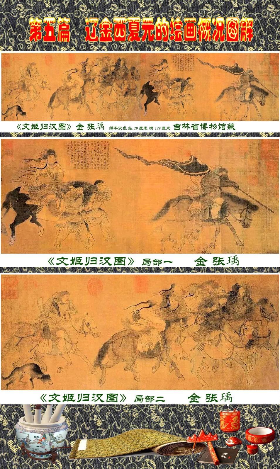 顾绍骅编辑 中国画知识普及版 第五篇 辽金西夏元的绘画概况 下 ... ..._图1-46
