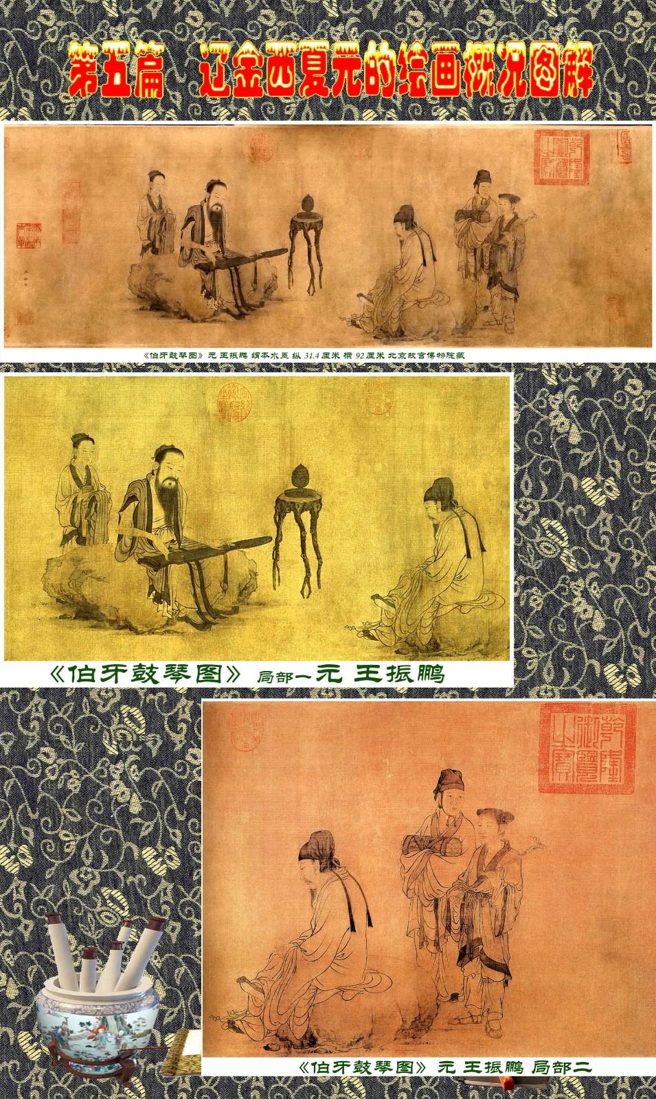 顾绍骅编辑 中国画知识普及版 第五篇 辽金西夏元的绘画概况 下 ... ..._图1-48