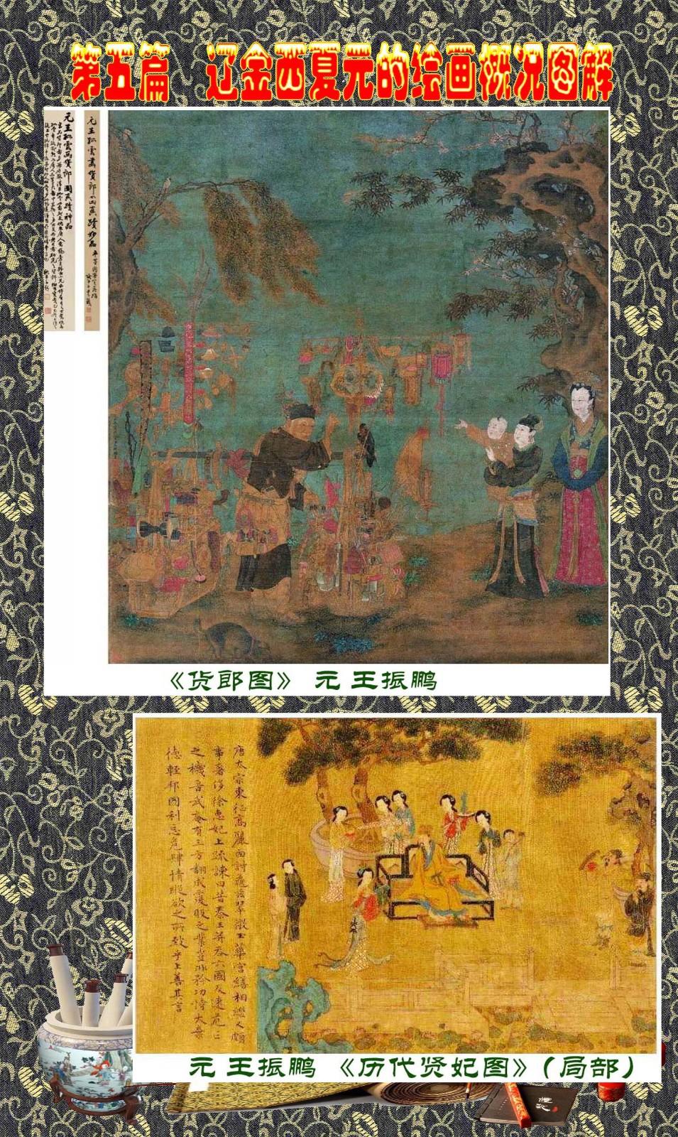 顾绍骅编辑 中国画知识普及版 第五篇 辽金西夏元的绘画概况 下 ... ..._图1-51