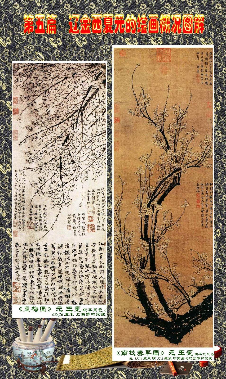 顾绍骅编辑 中国画知识普及版 第五篇 辽金西夏元的绘画概况 下 ... ..._图1-53