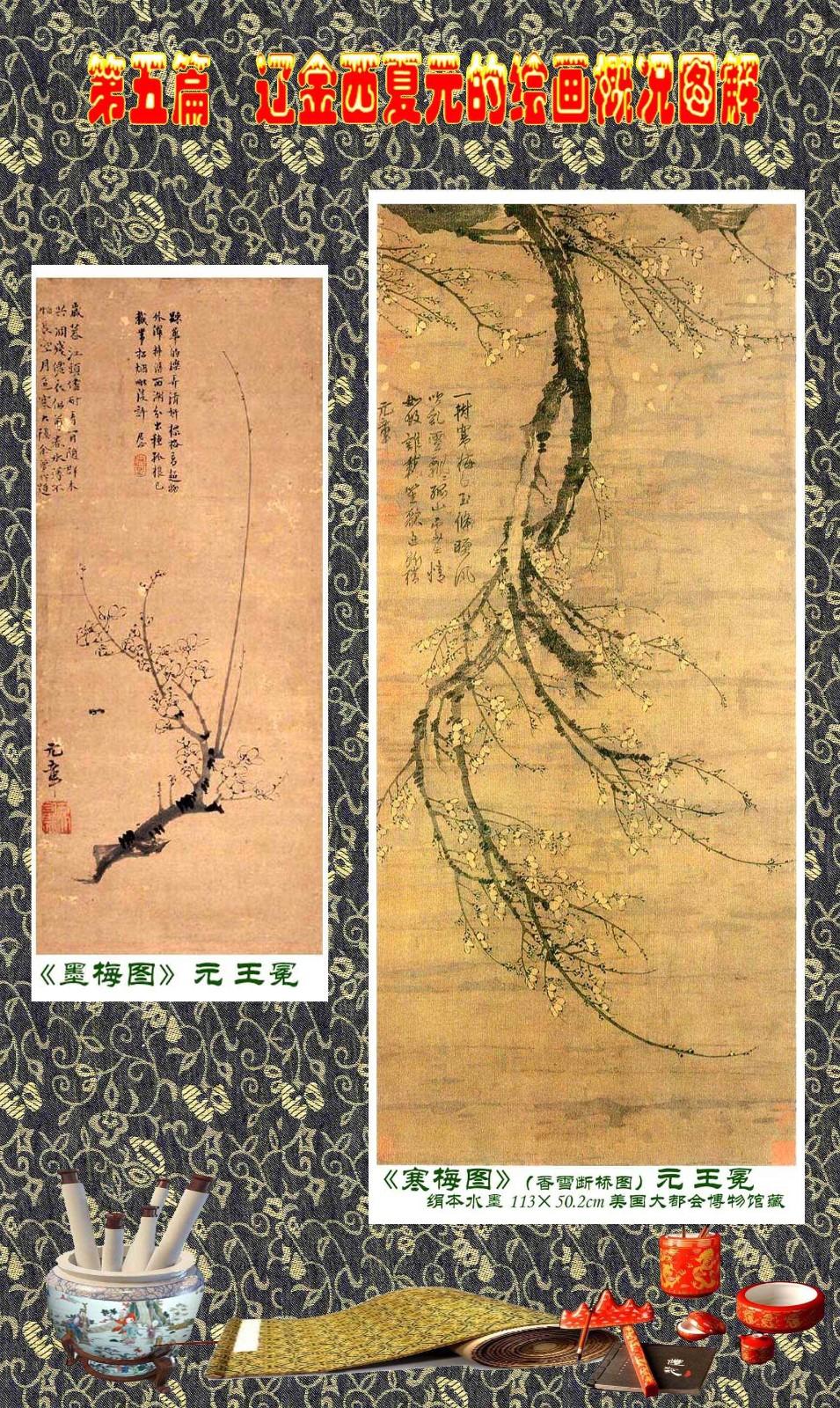 顾绍骅编辑 中国画知识普及版 第五篇 辽金西夏元的绘画概况 下 ... ..._图1-55