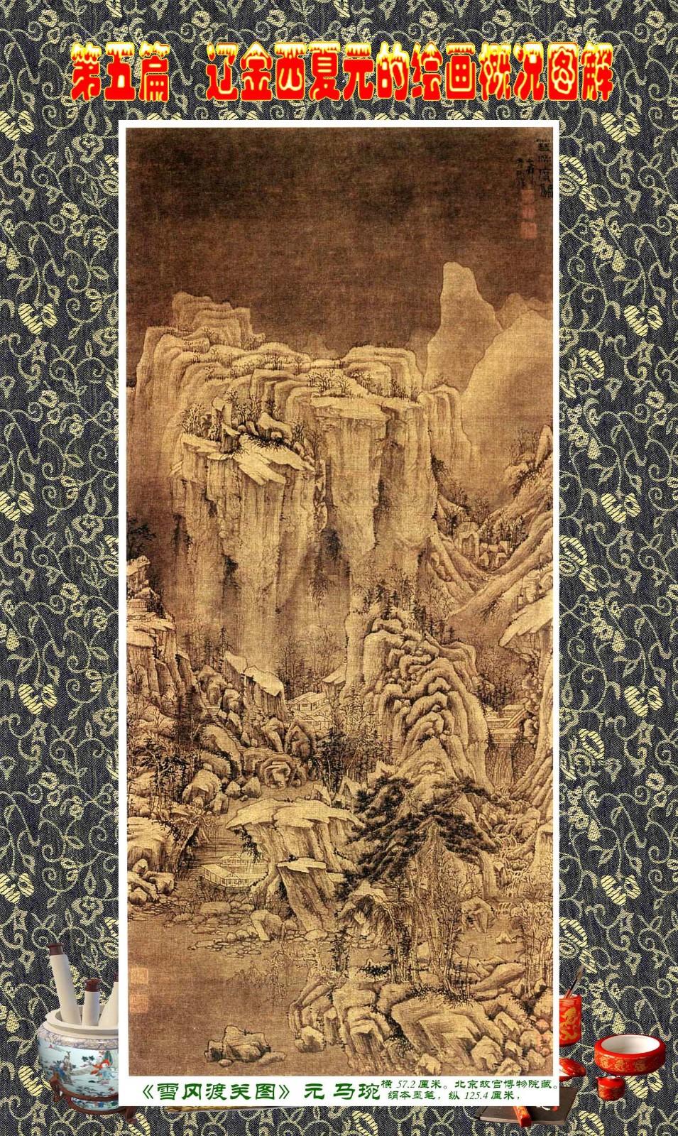 顾绍骅编辑 中国画知识普及版 第五篇 辽金西夏元的绘画概况 下 ... ..._图1-56