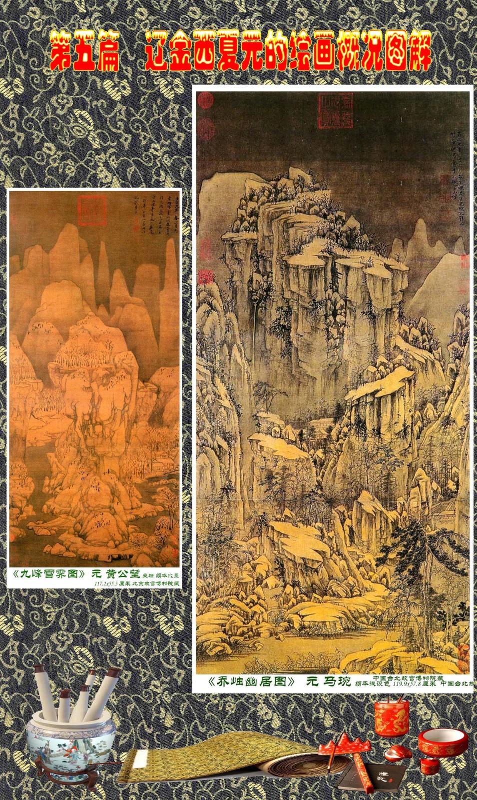 顾绍骅编辑 中国画知识普及版 第五篇 辽金西夏元的绘画概况 下 ... ..._图1-57