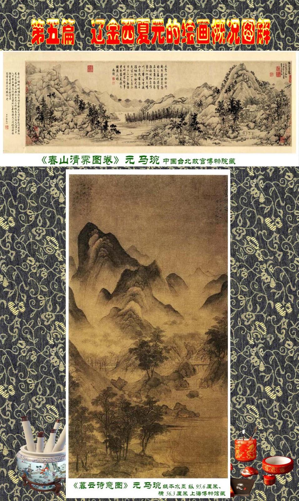 顾绍骅编辑 中国画知识普及版 第五篇 辽金西夏元的绘画概况 下 ... ..._图1-58