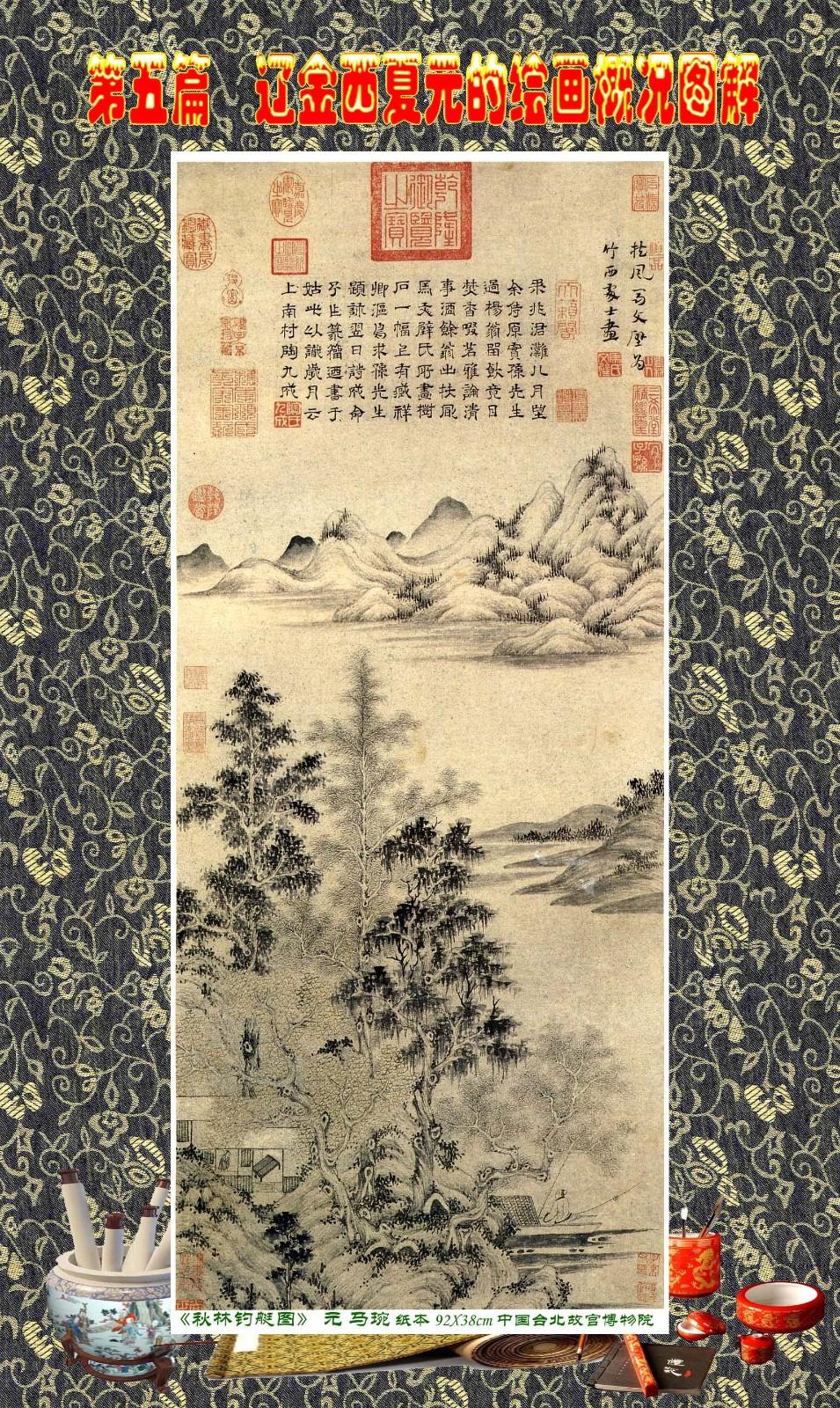 顾绍骅编辑 中国画知识普及版 第五篇 辽金西夏元的绘画概况 下 ... ..._图1-59