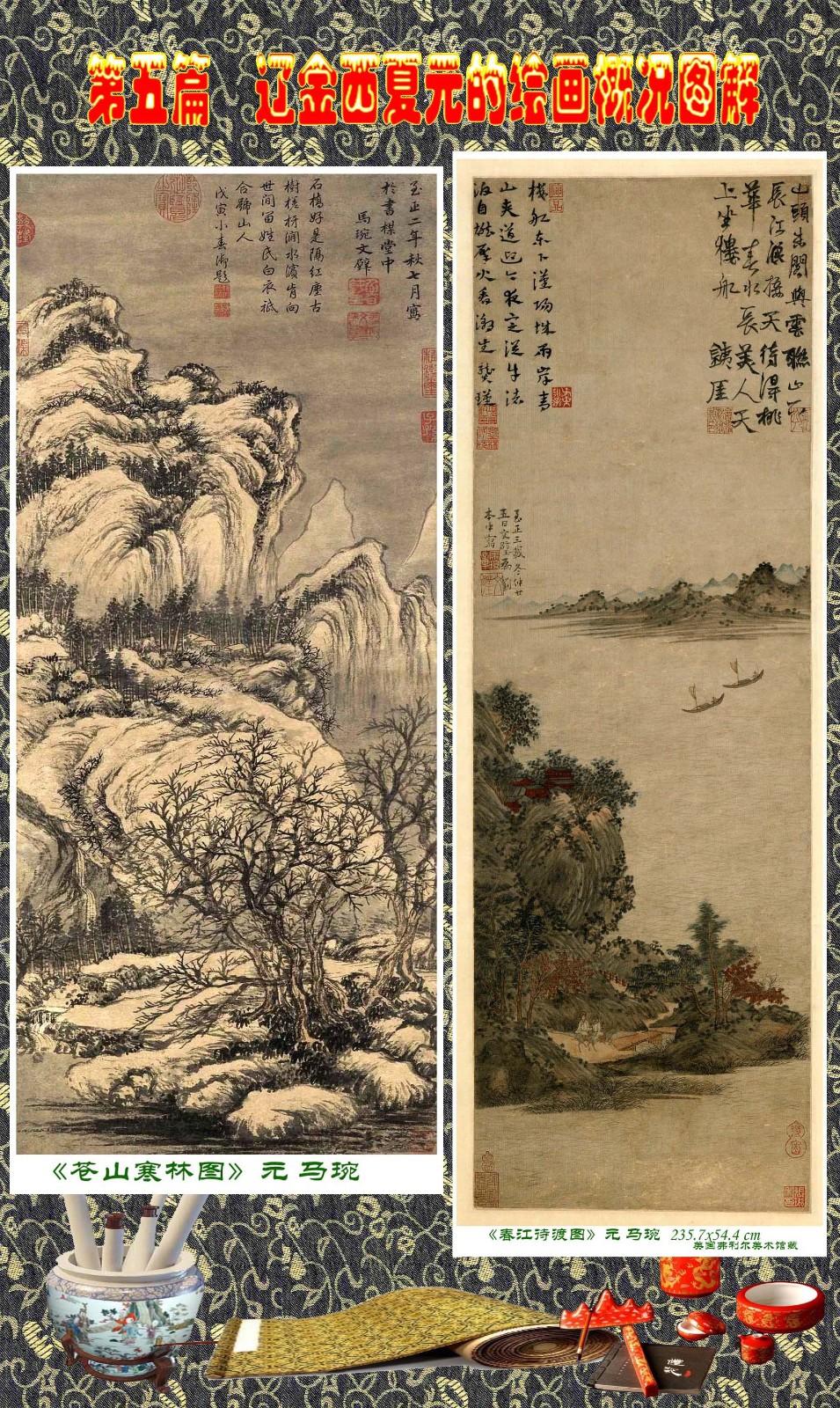 顾绍骅编辑 中国画知识普及版 第五篇 辽金西夏元的绘画概况 下 ... ..._图1-60