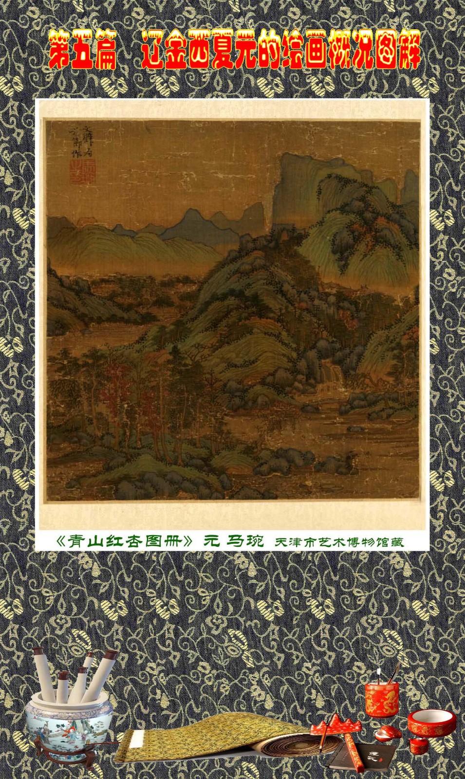 顾绍骅编辑 中国画知识普及版 第五篇 辽金西夏元的绘画概况 下 ... ..._图1-61