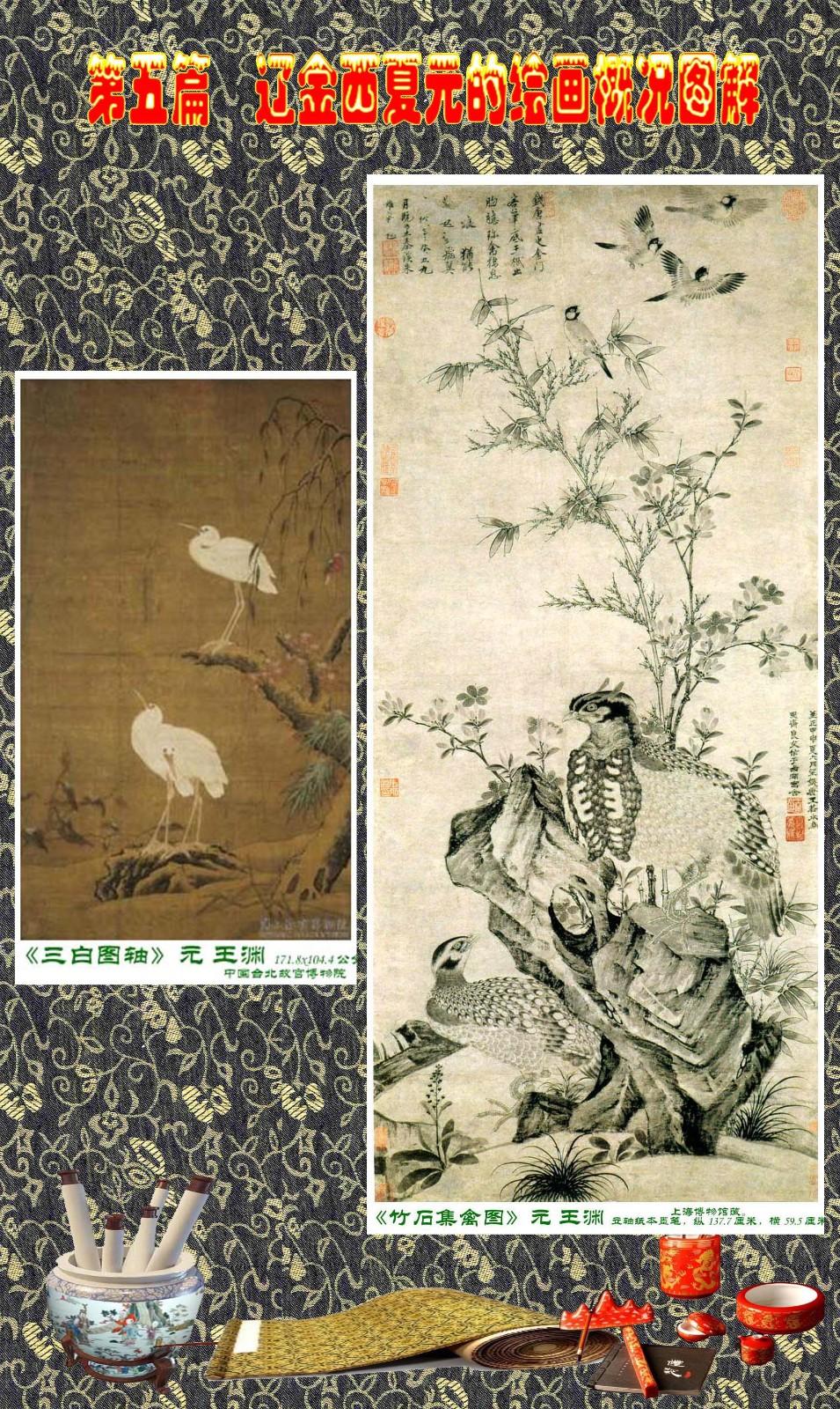 顾绍骅编辑 中国画知识普及版 第五篇 辽金西夏元的绘画概况 下 ... ..._图1-64