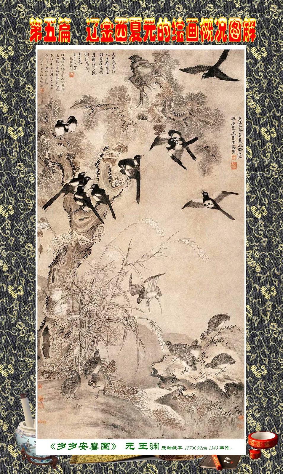 顾绍骅编辑 中国画知识普及版 第五篇 辽金西夏元的绘画概况 下 ... ..._图1-65