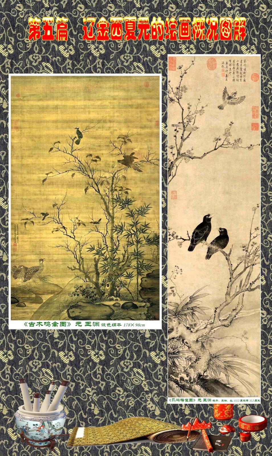 顾绍骅编辑 中国画知识普及版 第五篇 辽金西夏元的绘画概况 下 ... ..._图1-66