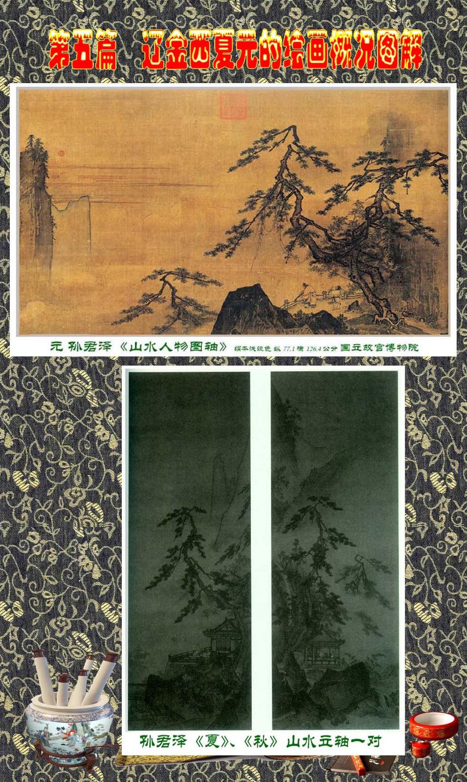 顾绍骅编辑 中国画知识普及版 第五篇 辽金西夏元的绘画概况 下 ... ..._图1-70