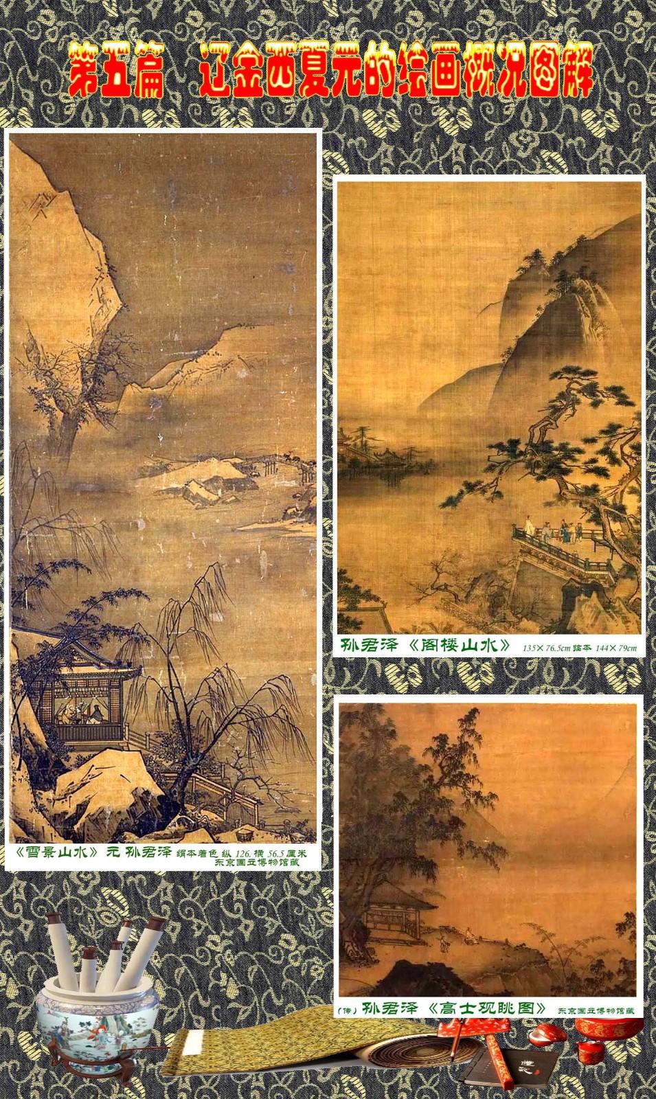 顾绍骅编辑 中国画知识普及版 第五篇 辽金西夏元的绘画概况 下 ... ..._图1-71