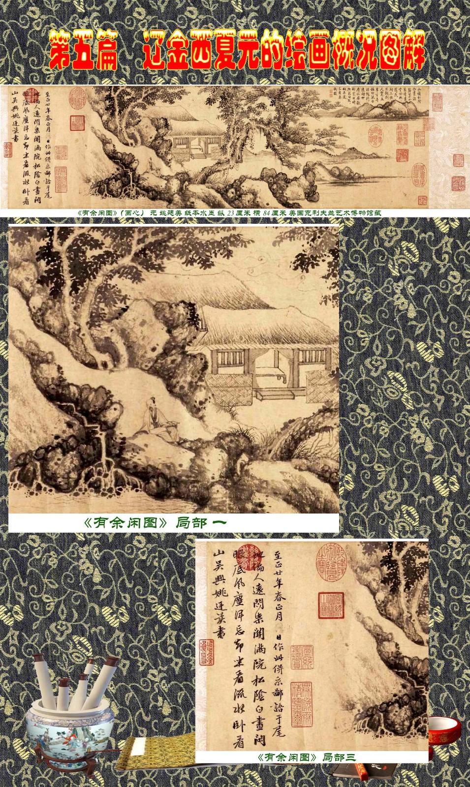 顾绍骅编辑 中国画知识普及版 第五篇 辽金西夏元的绘画概况 下 ... ..._图1-73