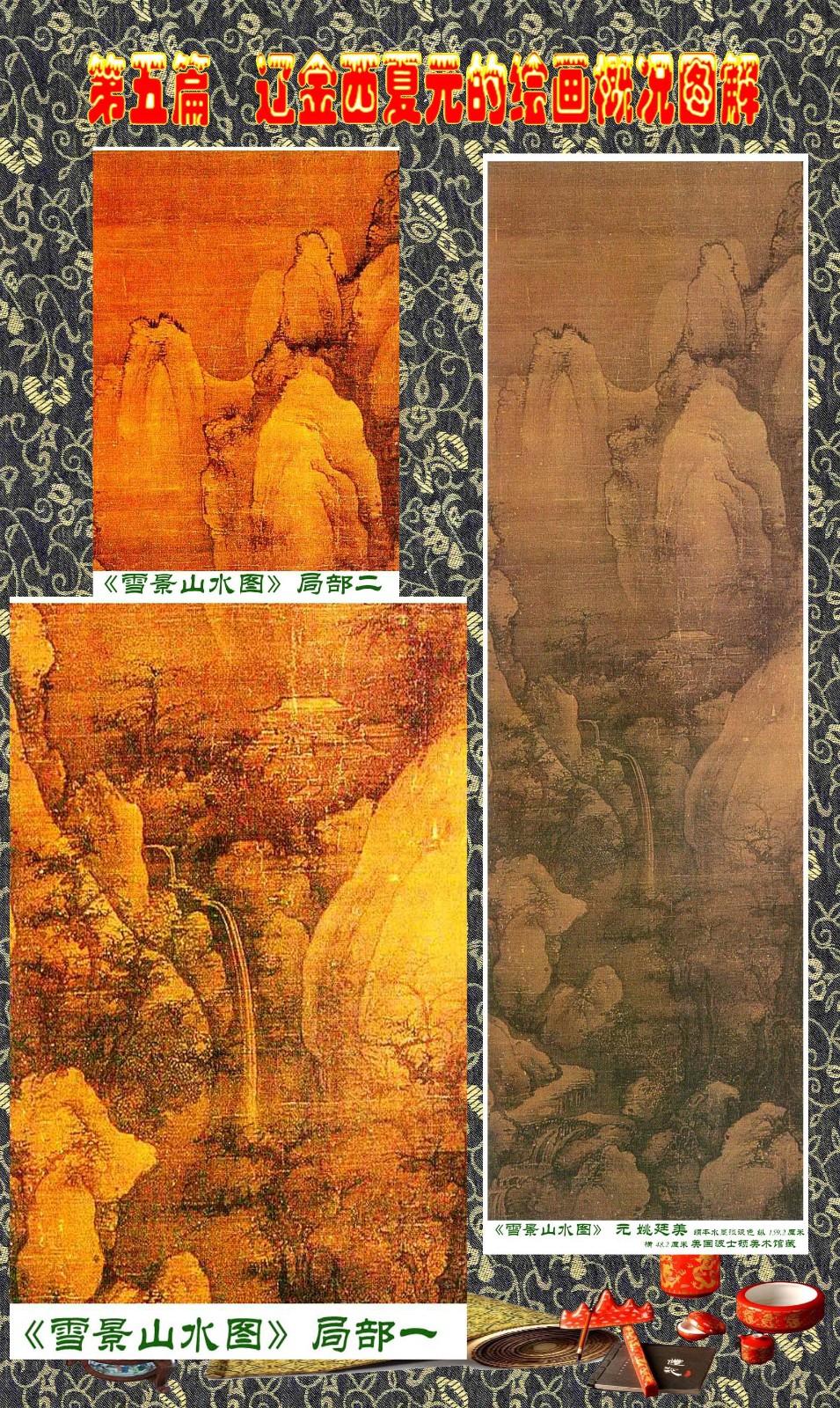 顾绍骅编辑 中国画知识普及版 第五篇 辽金西夏元的绘画概况 下 ... ..._图1-74