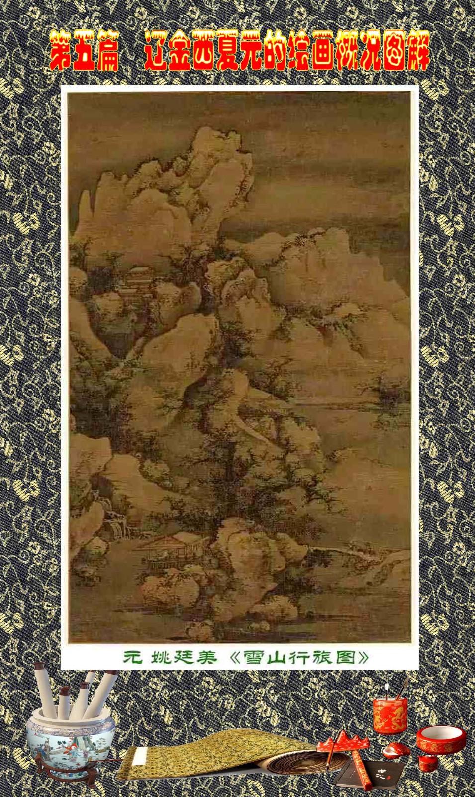 顾绍骅编辑 中国画知识普及版 第五篇 辽金西夏元的绘画概况 下 ... ..._图1-76