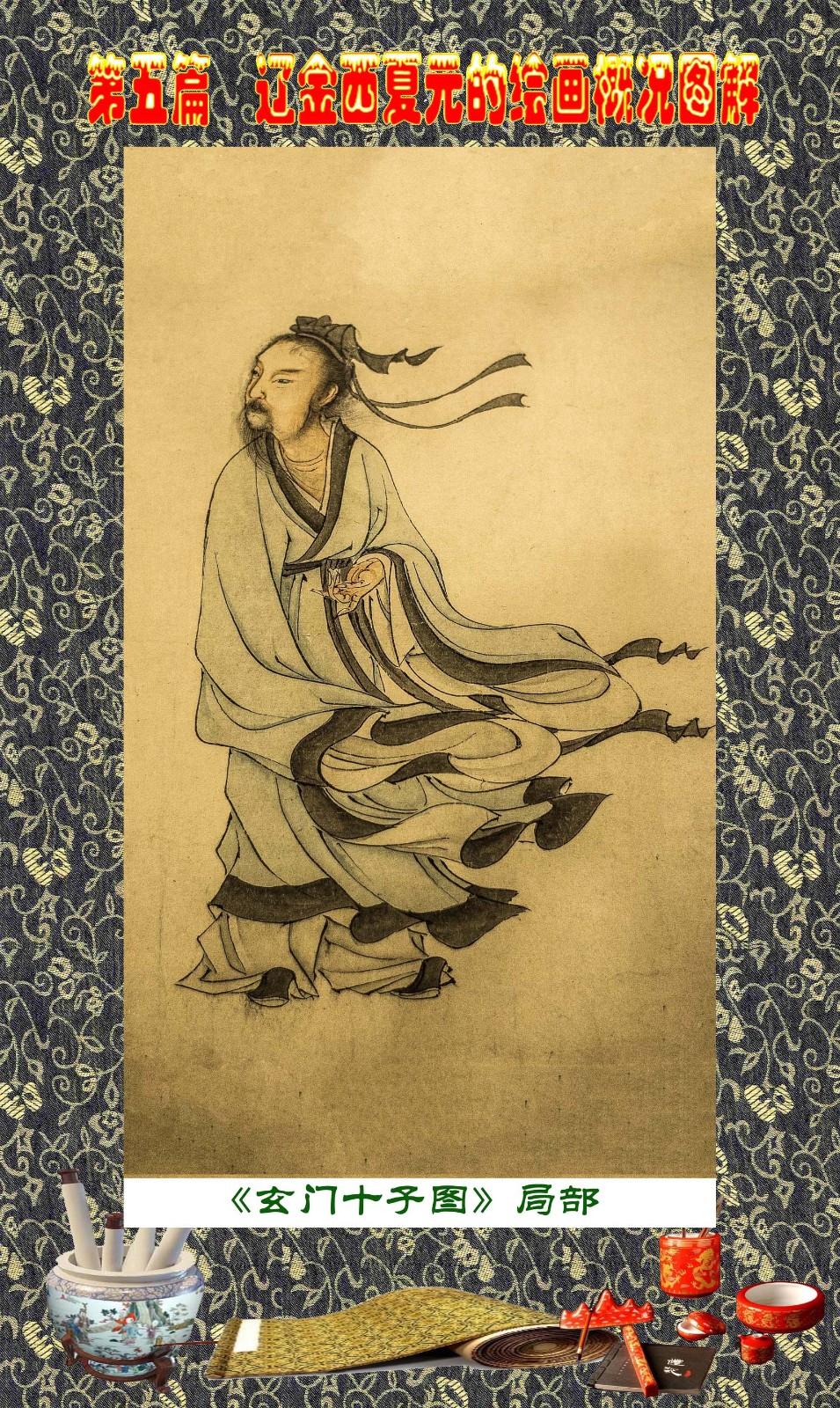 顾绍骅编辑 中国画知识普及版 第五篇 辽金西夏元的绘画概况 下 ... ..._图1-84