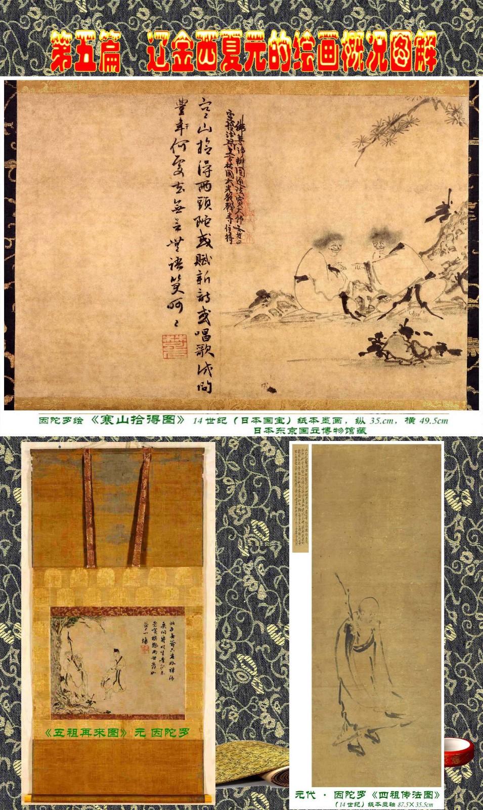 顾绍骅编辑 中国画知识普及版 第五篇 辽金西夏元的绘画概况 下 ... ..._图1-85