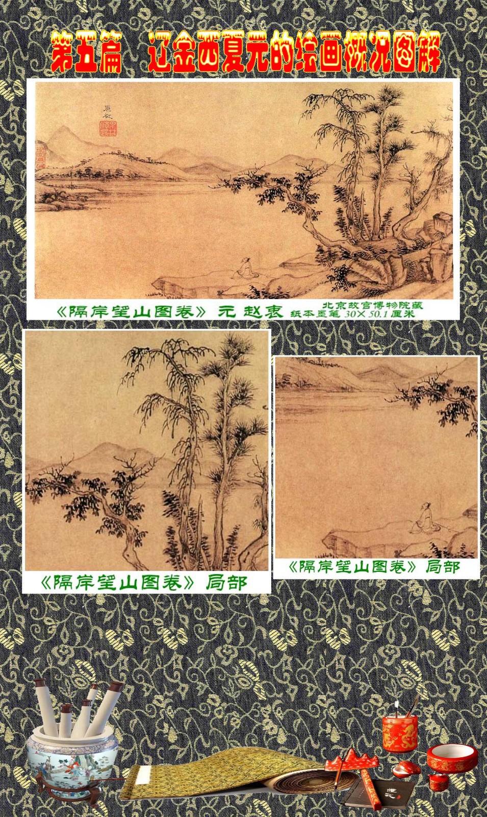 顾绍骅编辑 中国画知识普及版 第五篇 辽金西夏元的绘画概况 下 ... ..._图1-89